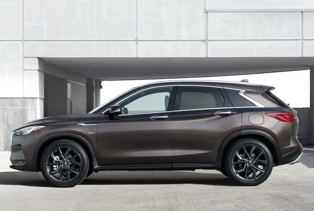 Infiniti Luxury Sport Utility Coupe Will Be Called QX55 ...