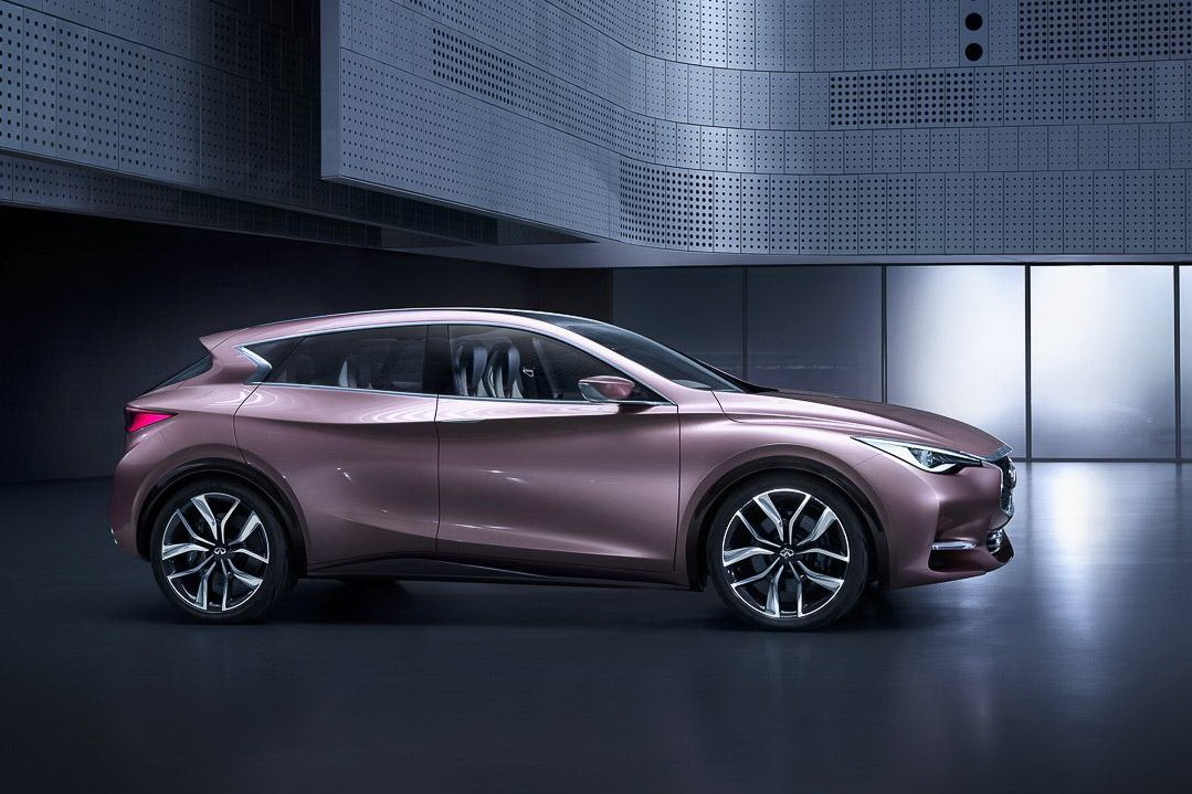 infiniti q30 concept reveals nissan 39 s premium compact. Black Bedroom Furniture Sets. Home Design Ideas
