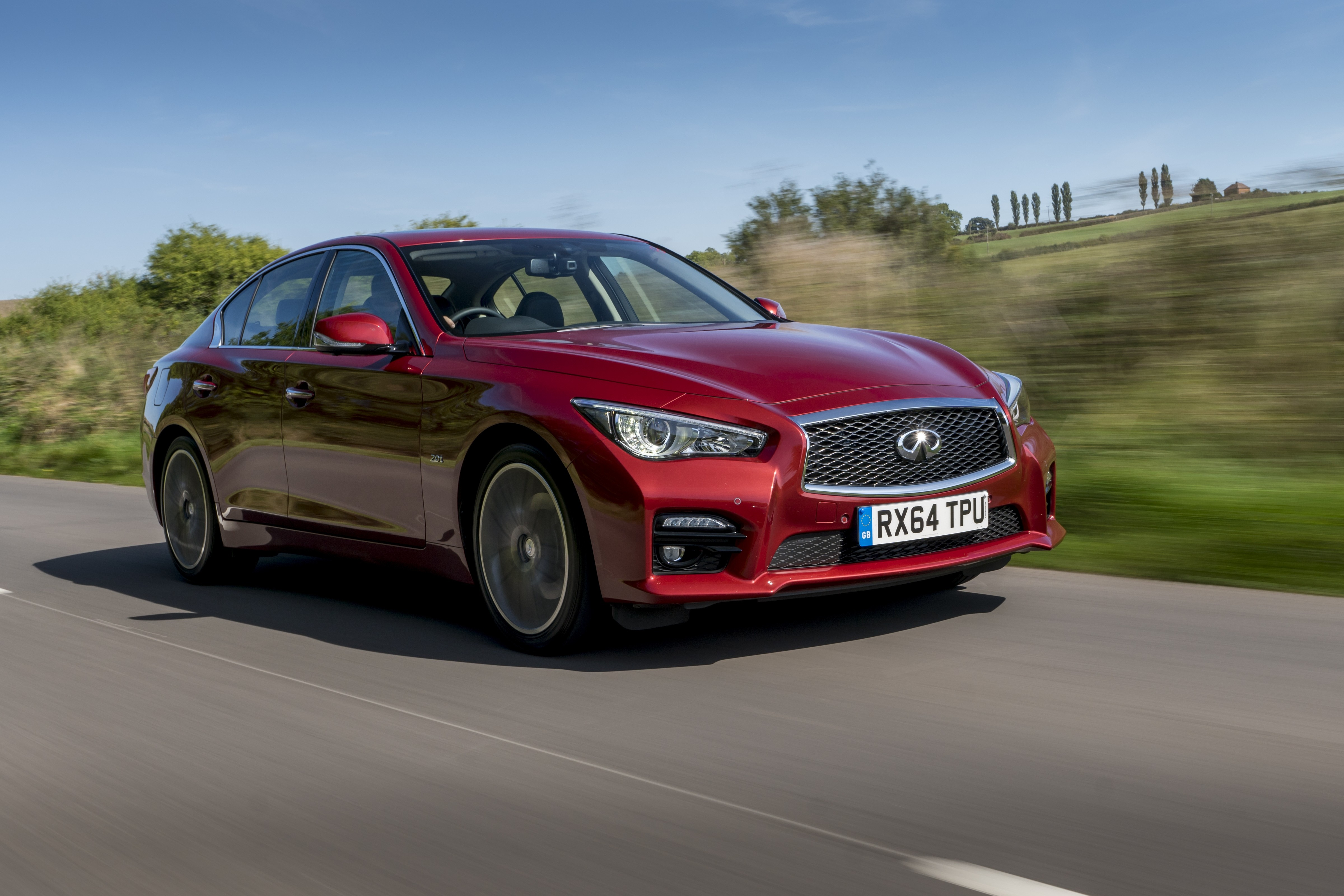 Infiniti Q50 Gets An Update And A New V6 Twin Turbo 400 Hp