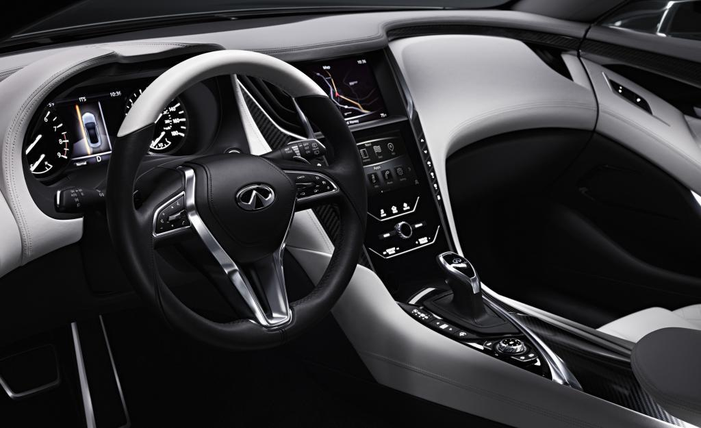 Infiniti Q60 Concept New Details And Interior Shown In Fresh Photos Bmw 4 Series Rival