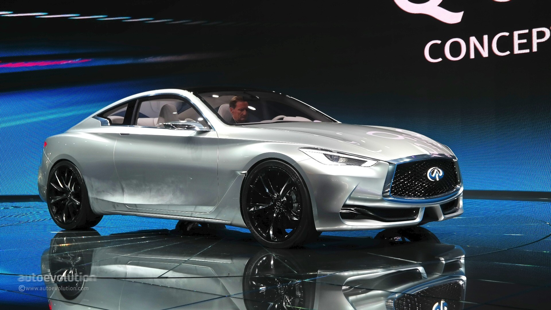 Infiniti q60 concept teases the two door coupe variant of the q50 2015 infiniti q60 concept live photos vanachro Image collections
