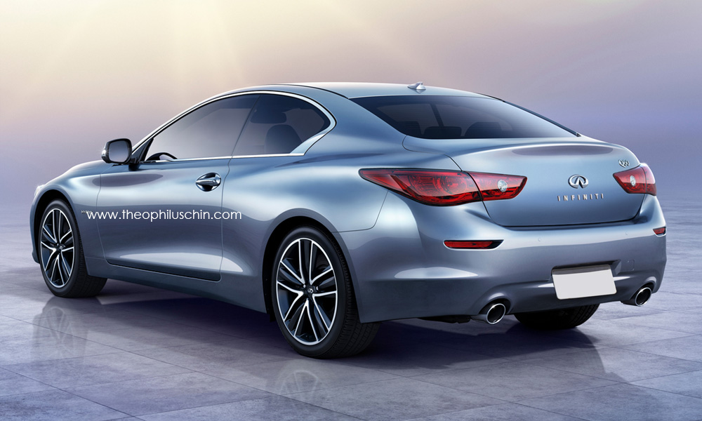 infiniti q60 coupe rendered coming in 2016 autoevolution. Black Bedroom Furniture Sets. Home Design Ideas