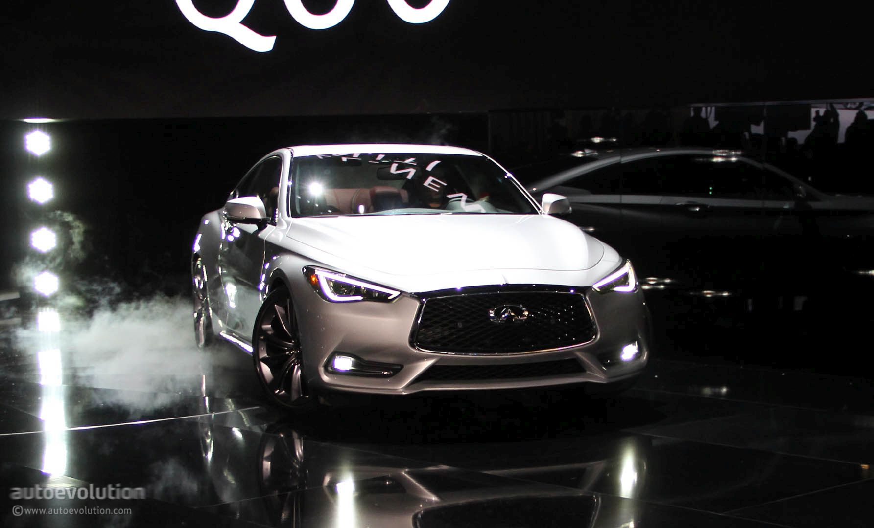 infiniti q60 blacked out. infiniti q60 live in detroit silver blacked out o