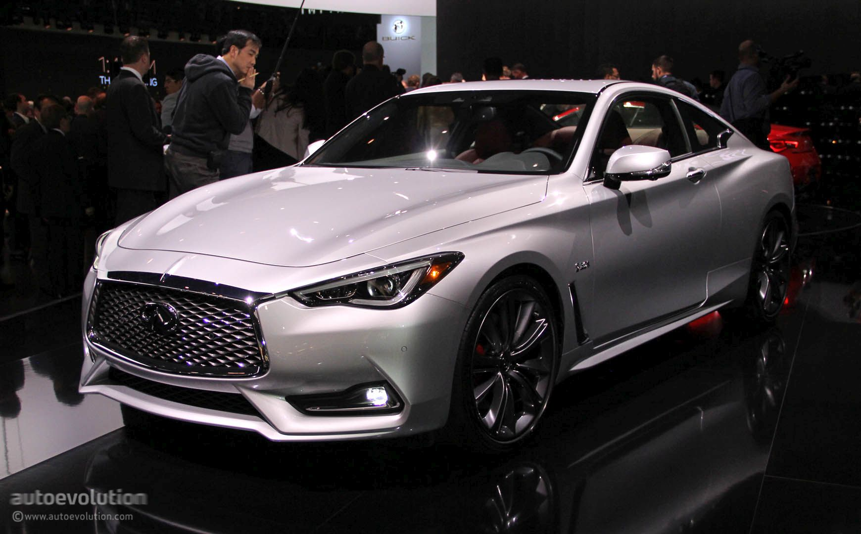 2017 Infiniti Q60 Coupe Hits Detroit with 400 HP V6, Moves Slightly Upmarket - autoevolution