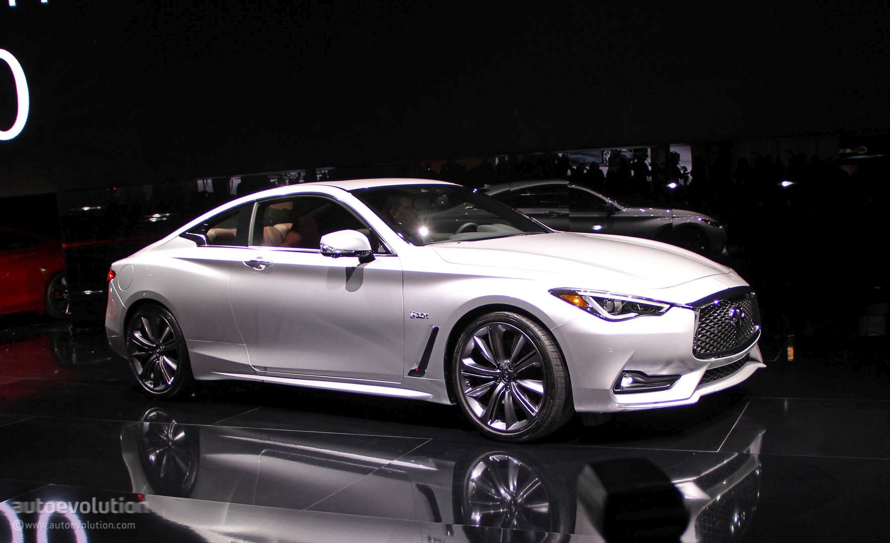 2017 infiniti q60 coupe hits detroit with 400 hp v6 moves slightly upmarket autoevolution. Black Bedroom Furniture Sets. Home Design Ideas