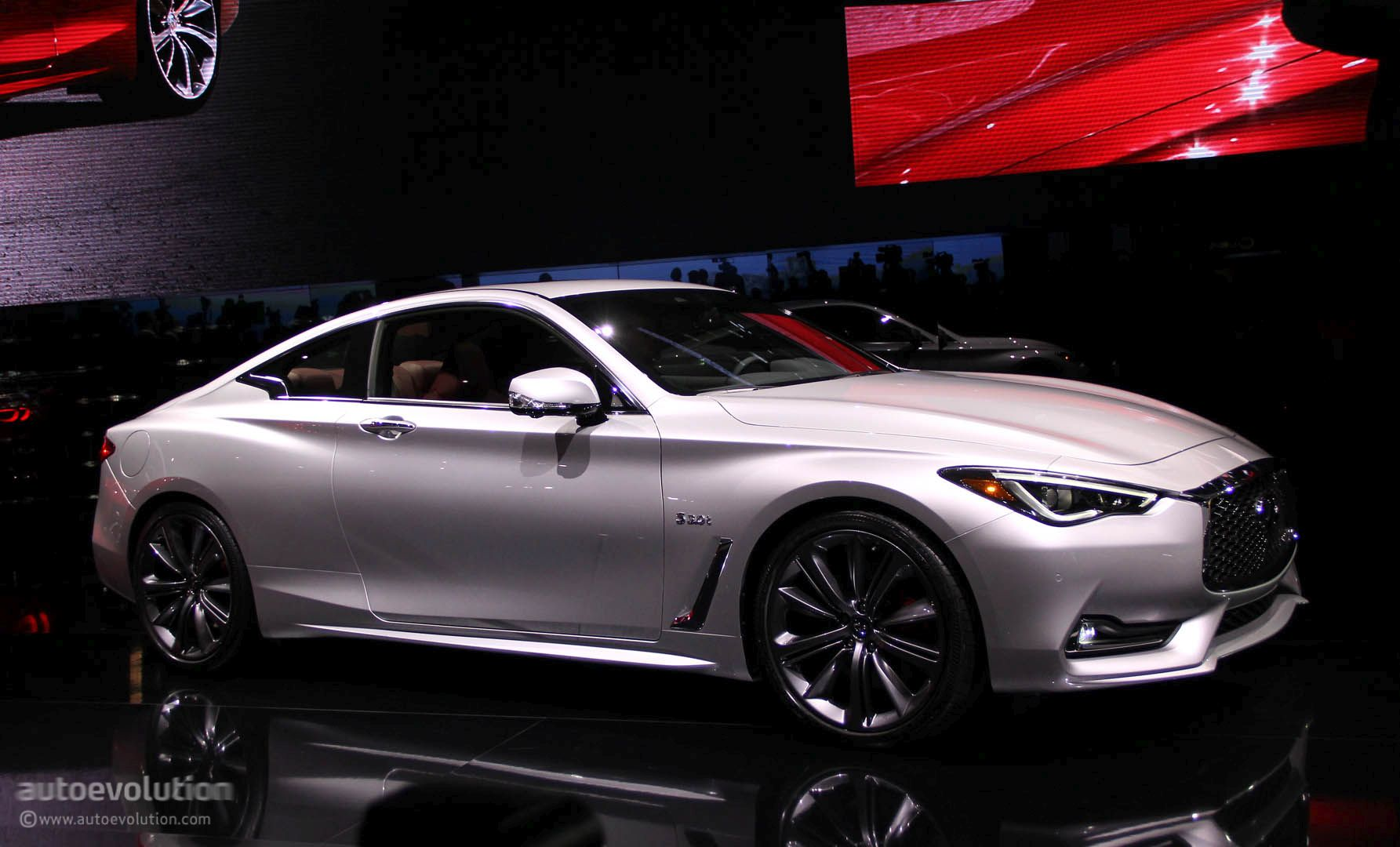 2017 infiniti q60 coupe hits detroit with 400 hp v6 moves. Black Bedroom Furniture Sets. Home Design Ideas