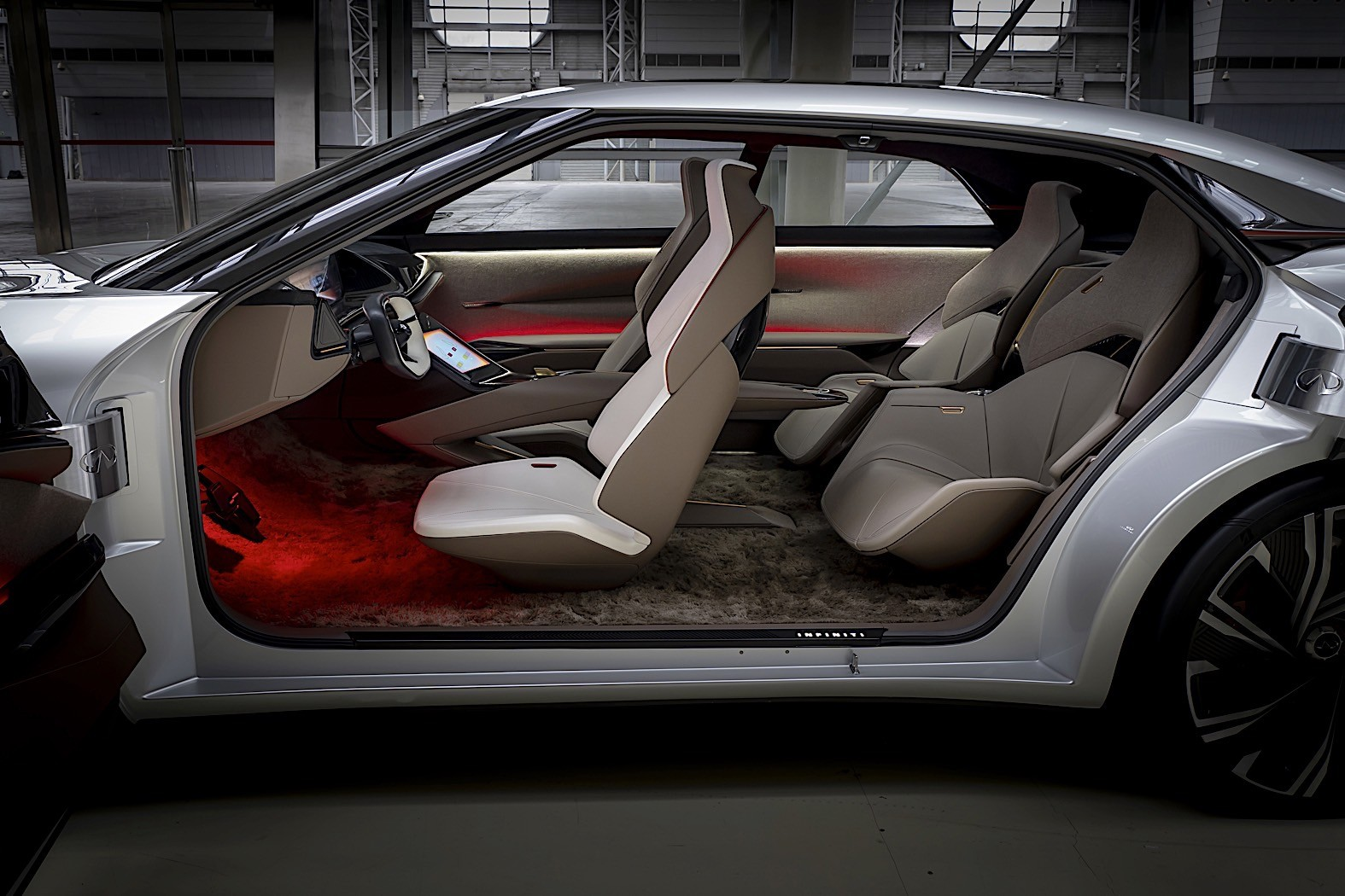 Infiniti Qs Inspiration Lights Up Shanghai Autoevolution
