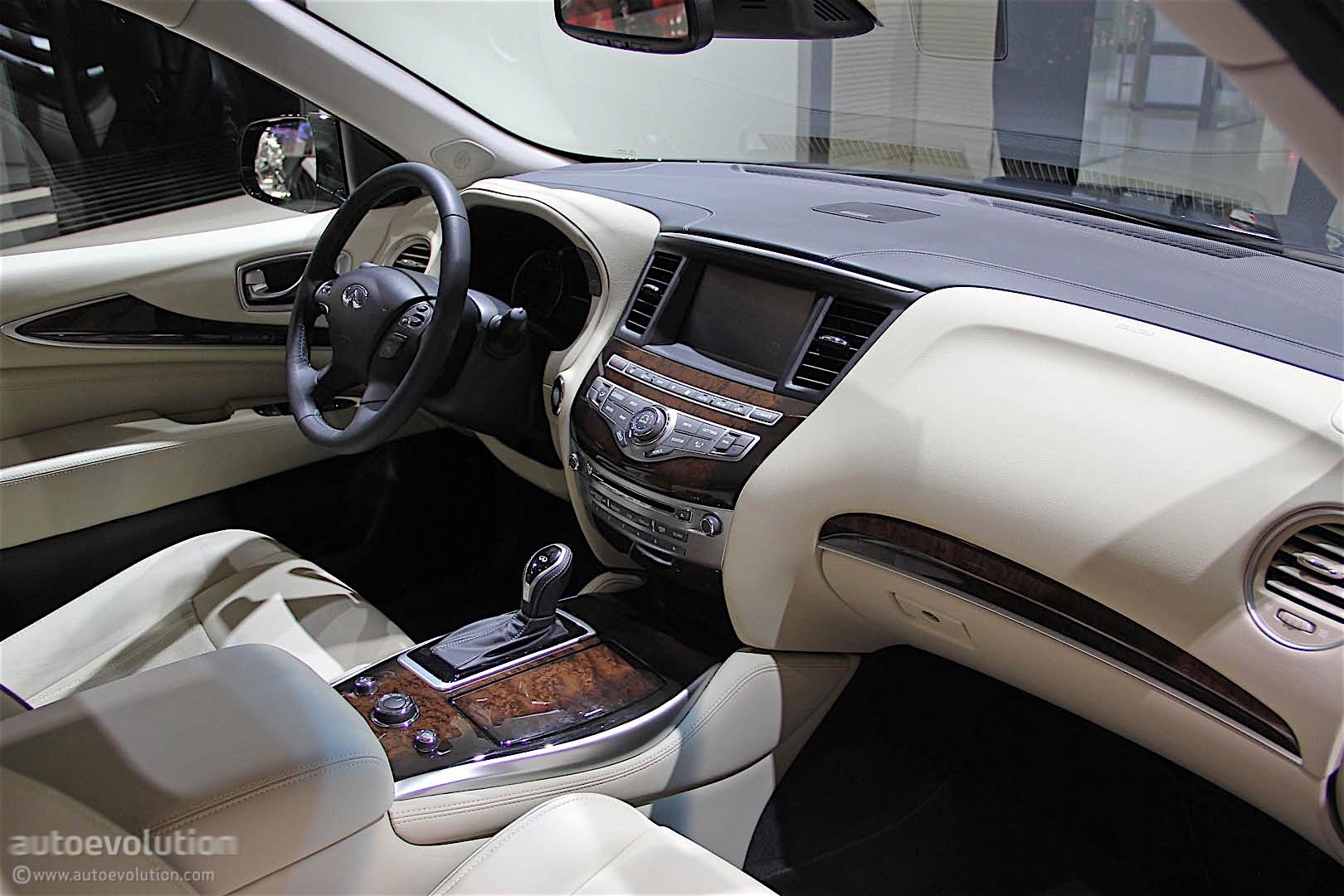 Infiniti Qx60 2016 Detroit Auto Show