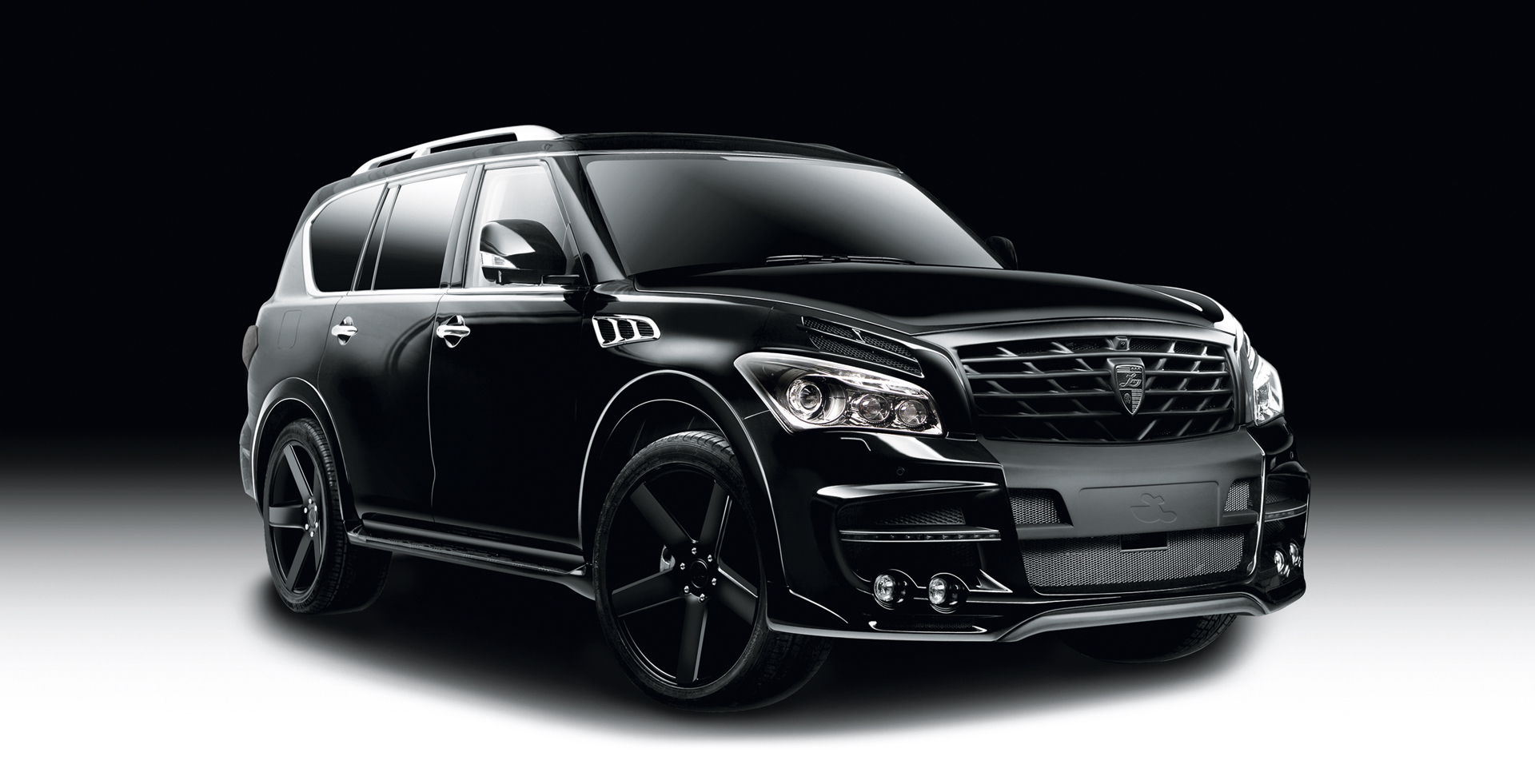 Black Qx70 >> Infiniti QX80 Gets the Larte Design Treatment - autoevolution
