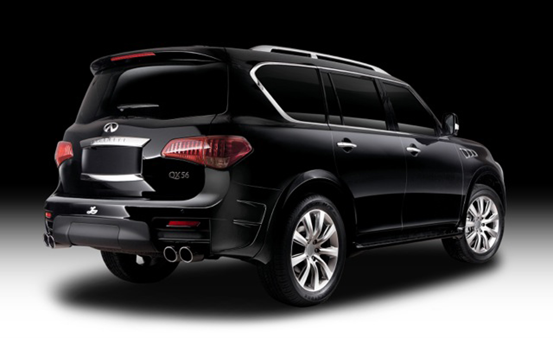 Mercedes Suv Models >> Infiniti QX80 Gets the Larte Design Treatment - autoevolution