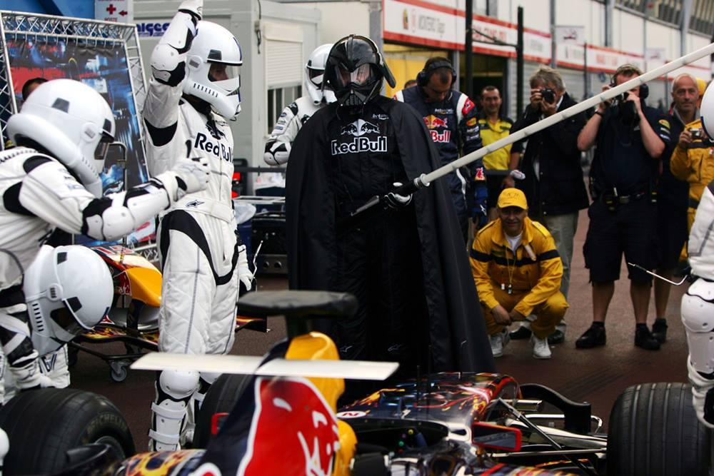Infiniti Q50 Specs >> Infiniti Red Bull Crew Dresses as Stormtrooper Clones for ...