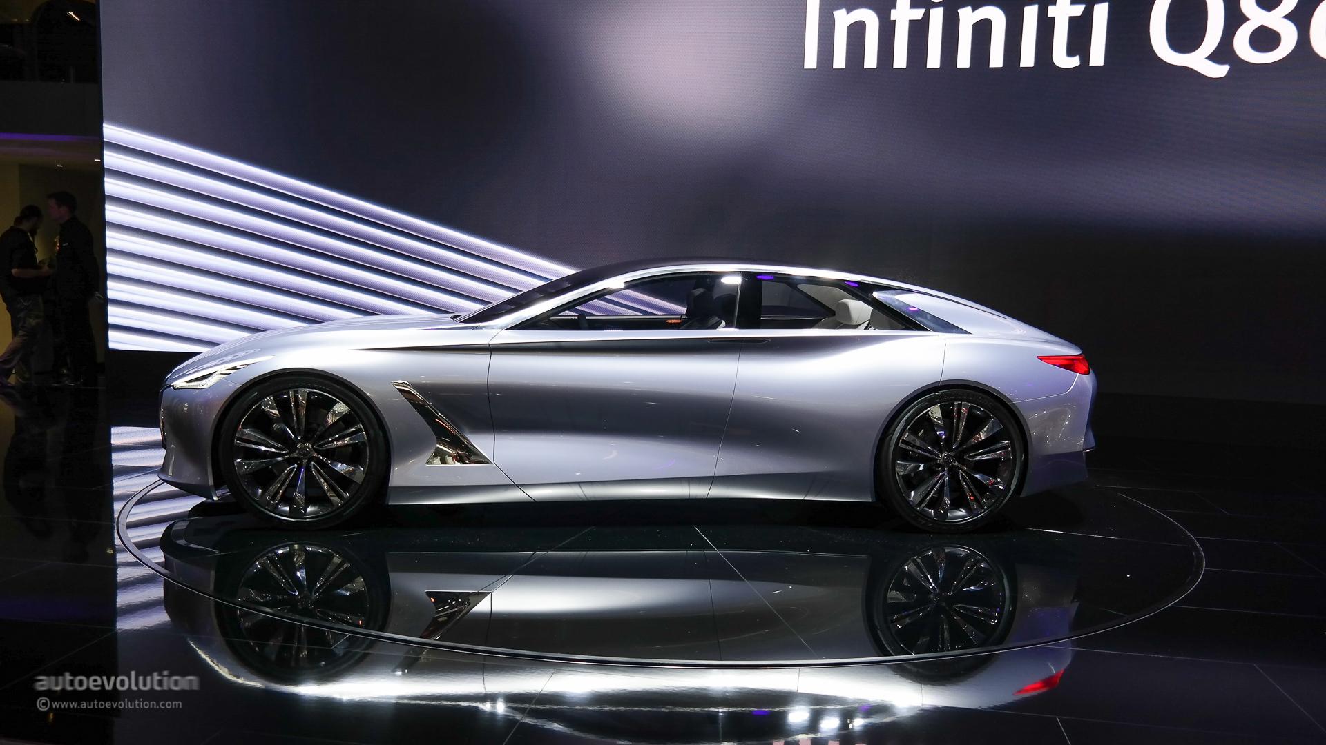 S Class Coupe >> Infiniti Reveals CLS-Class Fighting Q80 Concept at Paris [Live Photo] - autoevolution