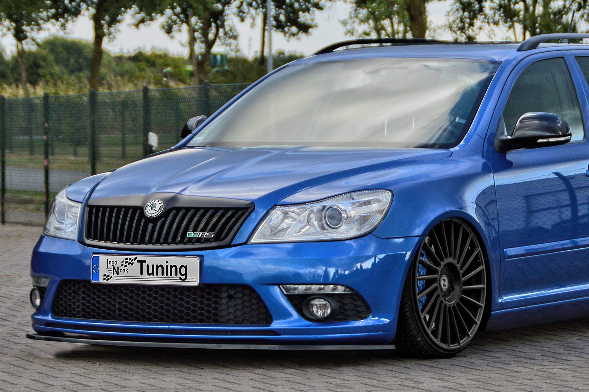 Ingo Noak Custom Splitters Match Every Skoda Rs And Opel