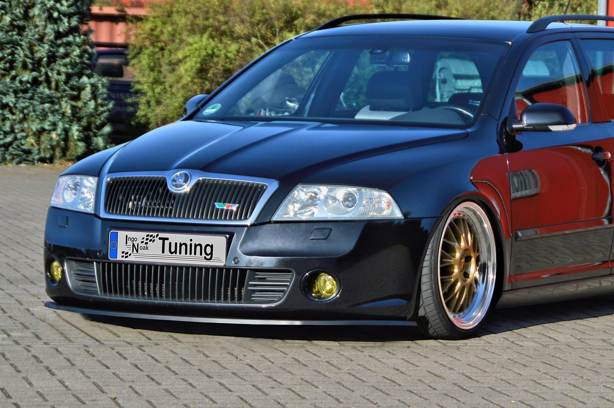 Ingo Noak Custom Splitters Match Every Skoda Rs And Opel