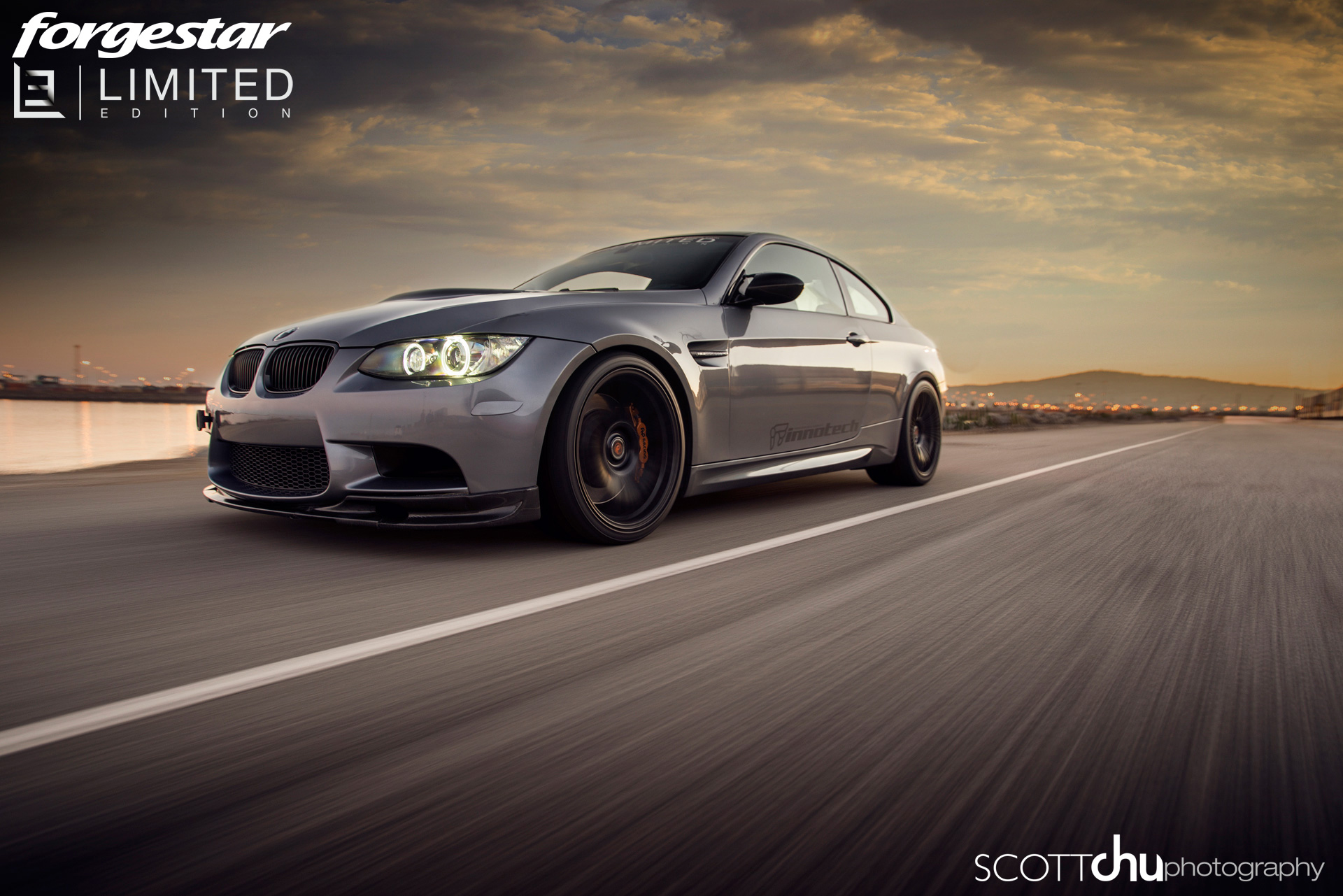 Innotech Limited Edition E92 M3 On Forgestar Wheels Sounds Great Autoevolution