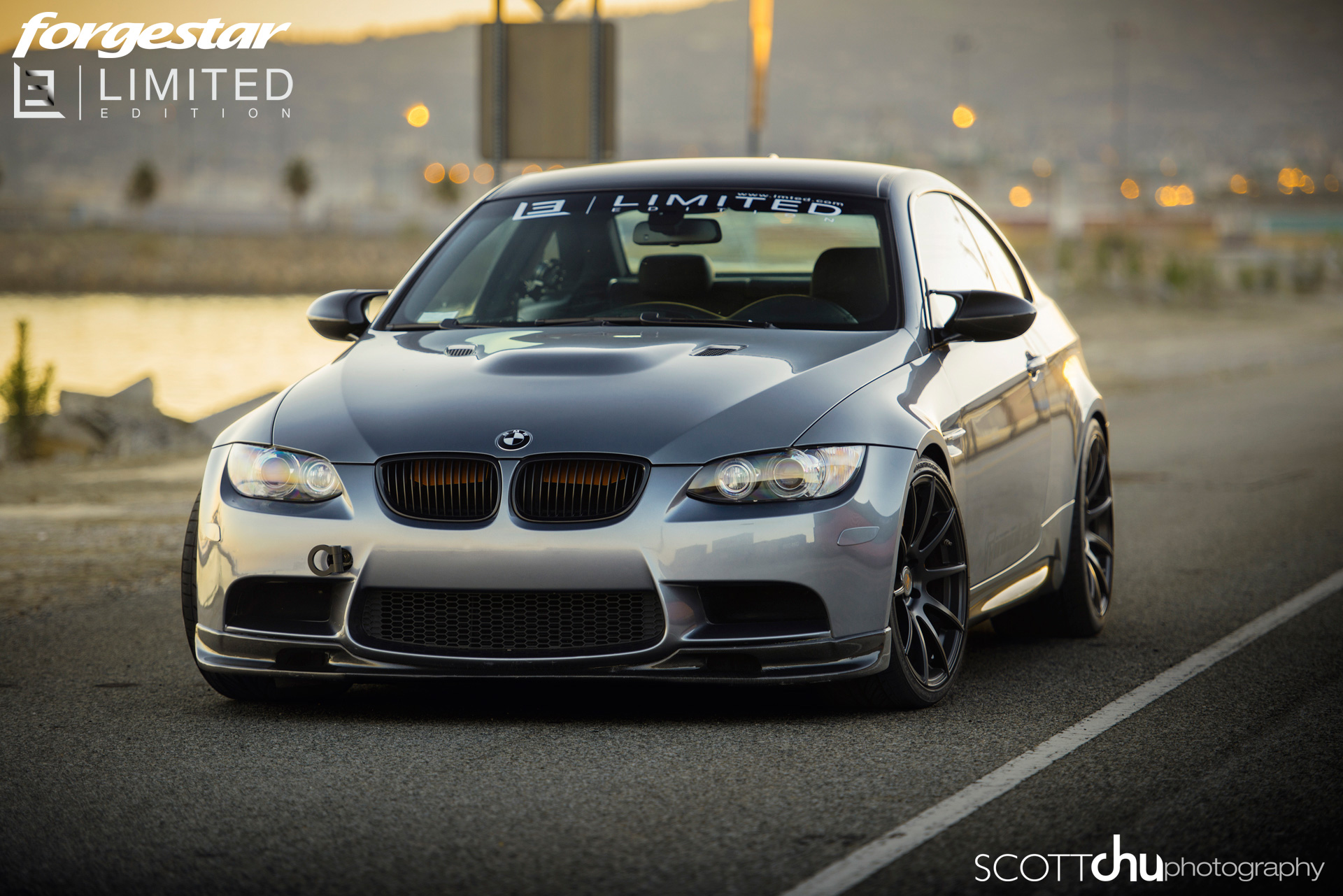 Bmw E46 M3 Front Bumper Innotech Limited Edition E92 M3 on Forgestar Wheels Sounds Great ...