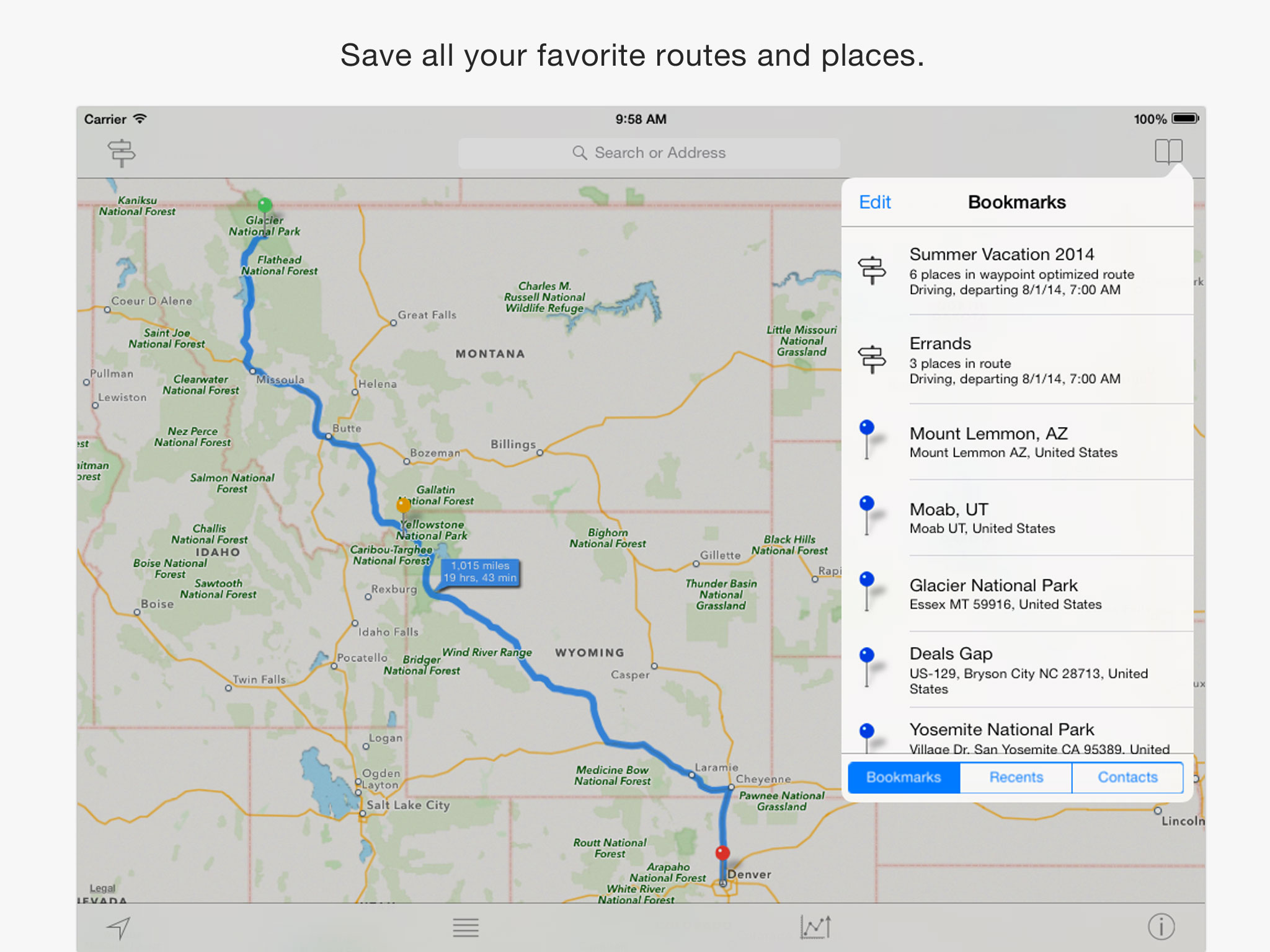 inRoute, the Intelligent Route and Road Trip Planner - autoevolution