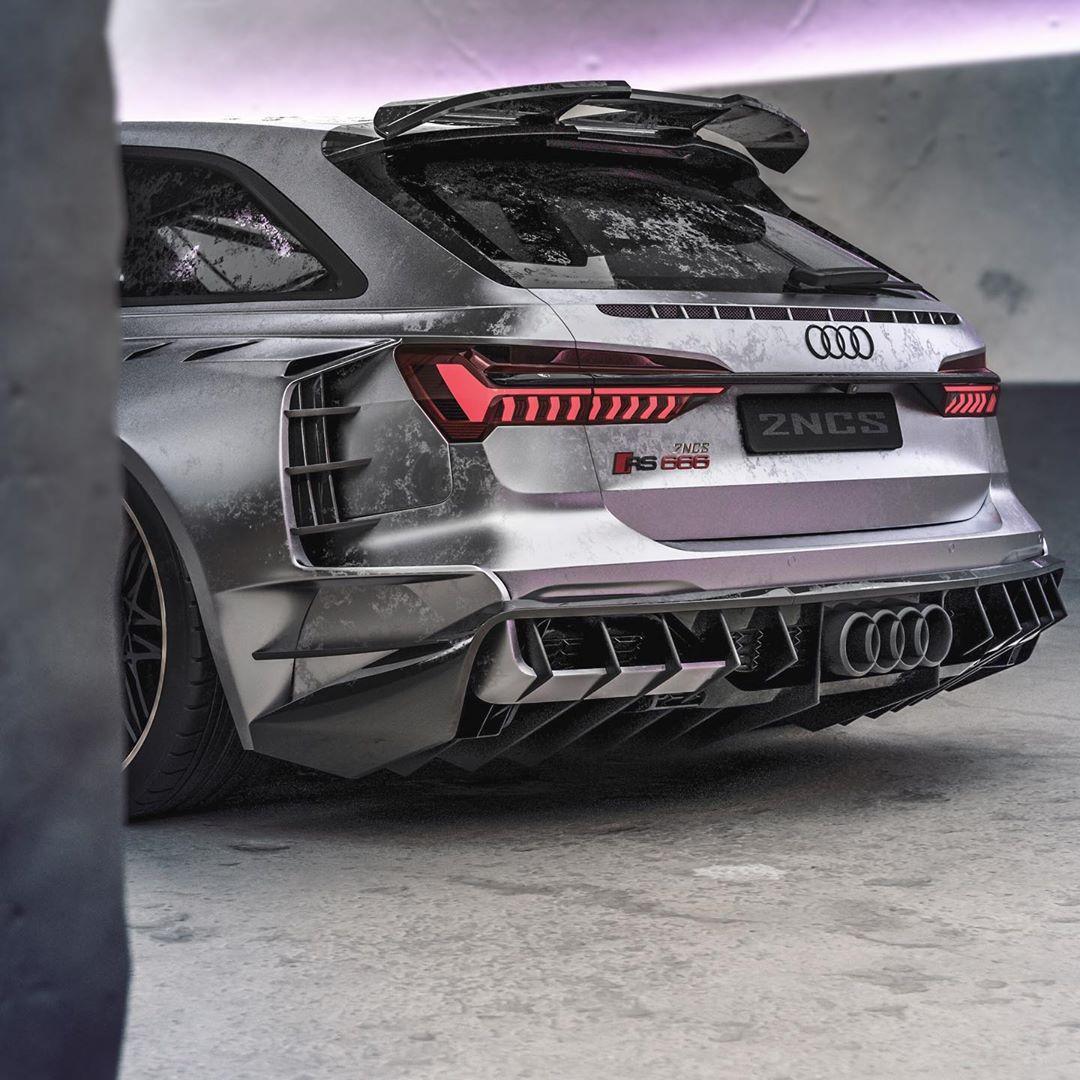 Insane 2020 Audi RS6 Widebody Rendering Looks Real, Has