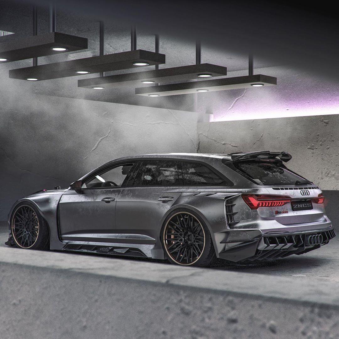 Widebody 2020 Audi RS6 Looks Like Jon Olsson's Lost RS6