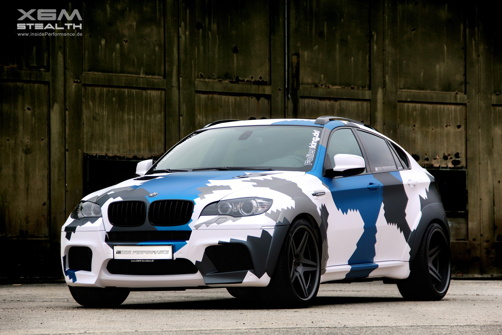 Inside Performance Presents Stealth Bmw X6 M Autoevolution