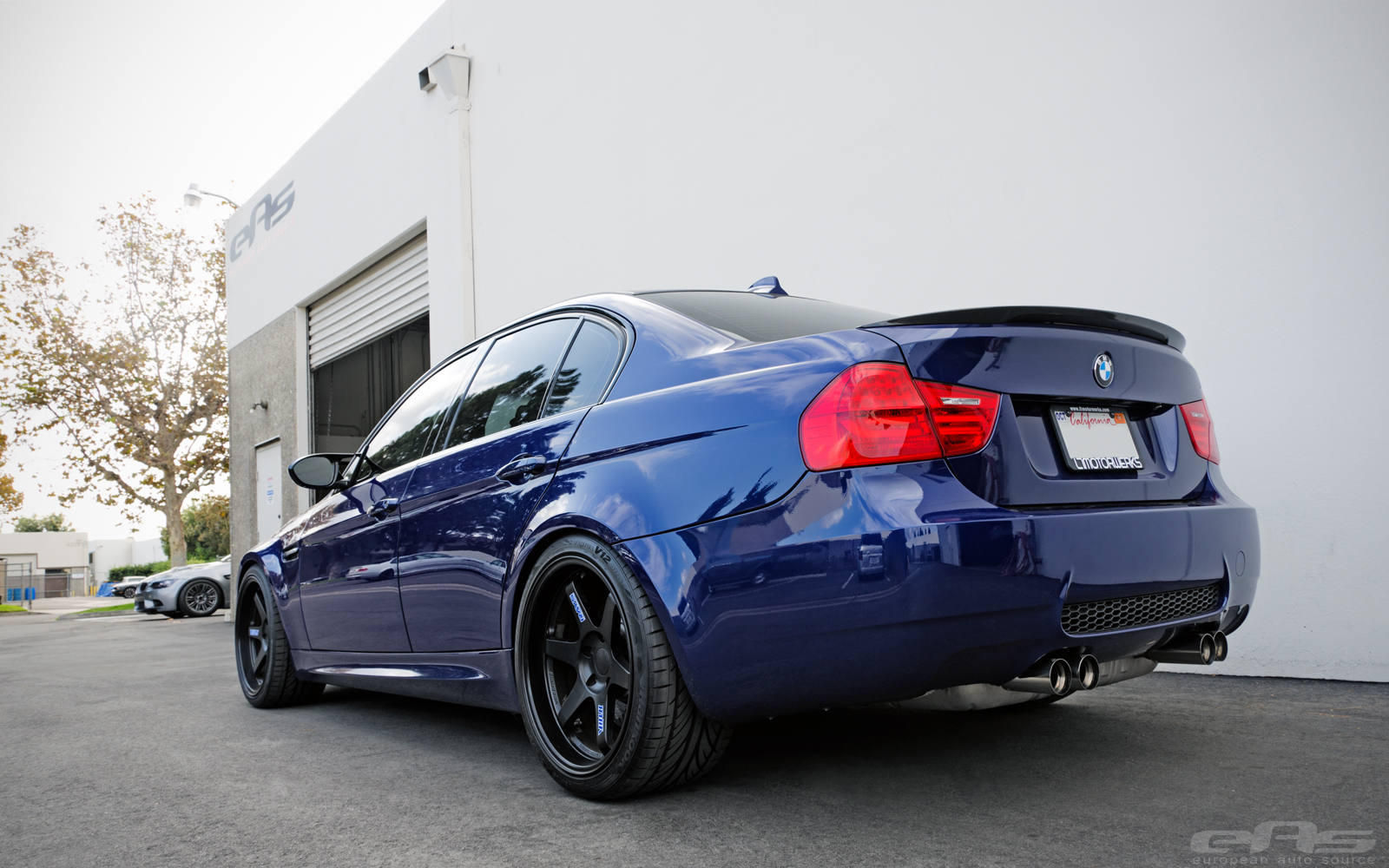 Interlagos Blue Bmw E90 M3 Looks Stunning On Volk Wheels