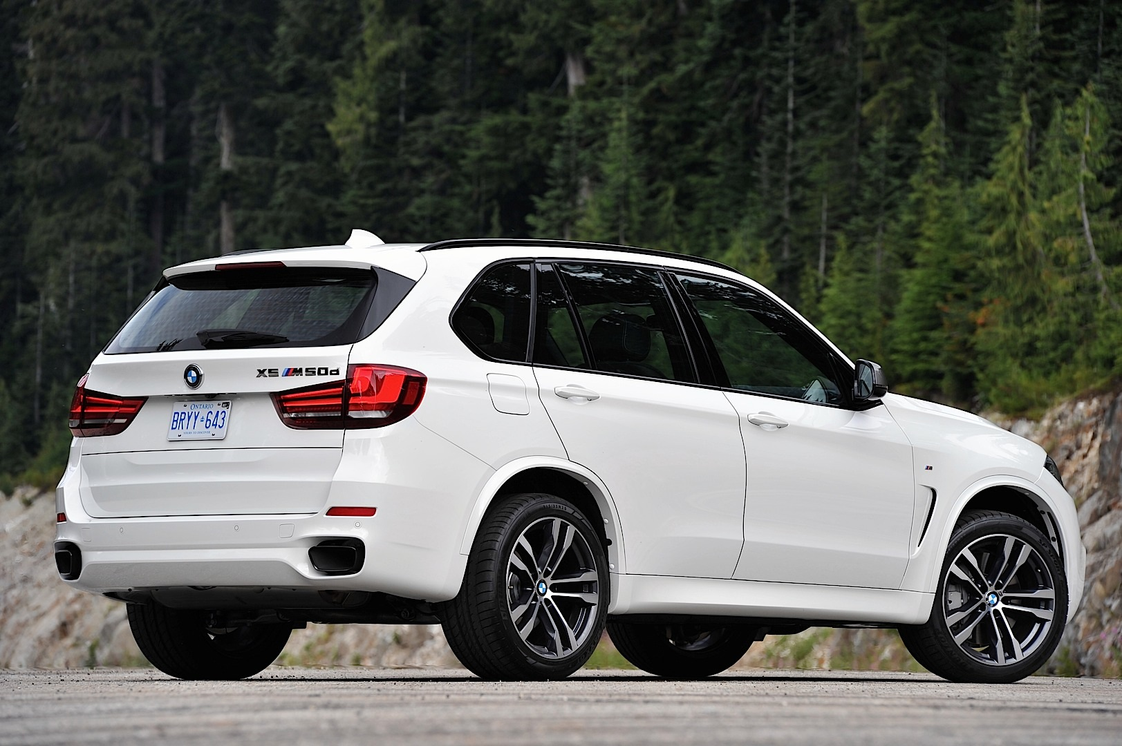 Introducing the New BMW F15 X5 M50d - autoevolution