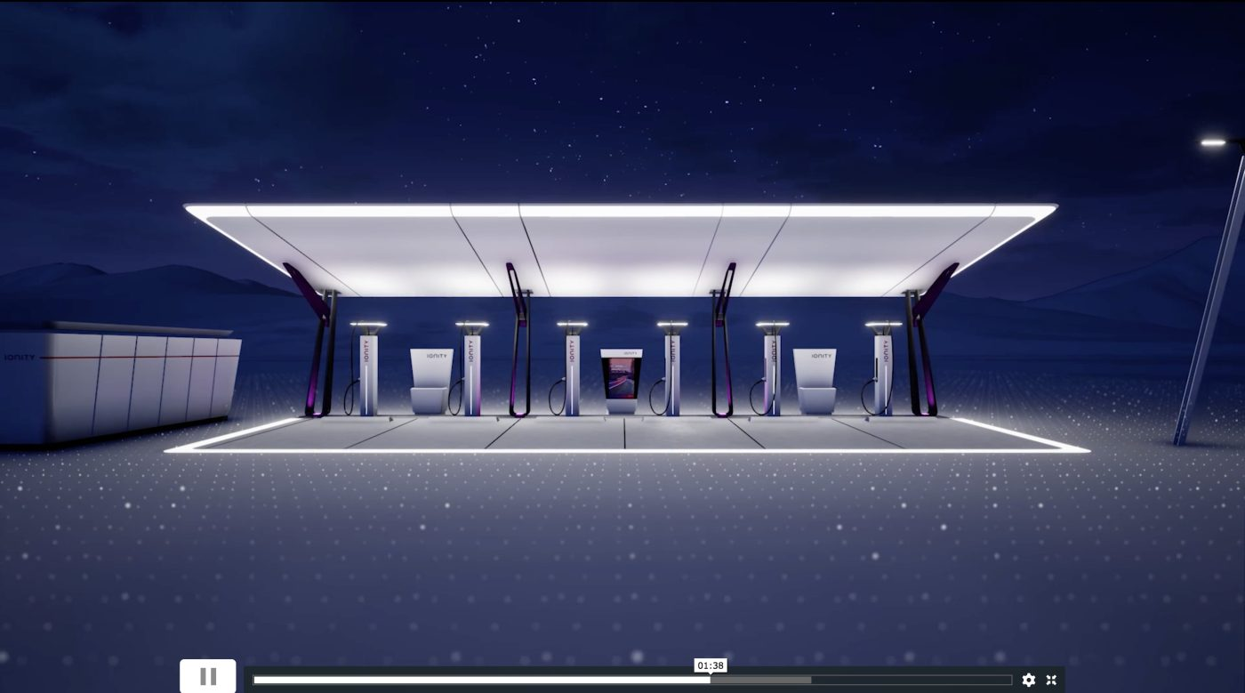Ionity shows the design of its upcoming ultra fast charging stations network autoevolution - Architecture shows ...
