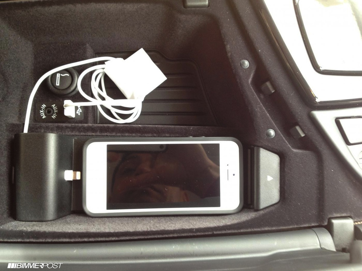 Iphone 5 cradle diy for your bmw autoevolution