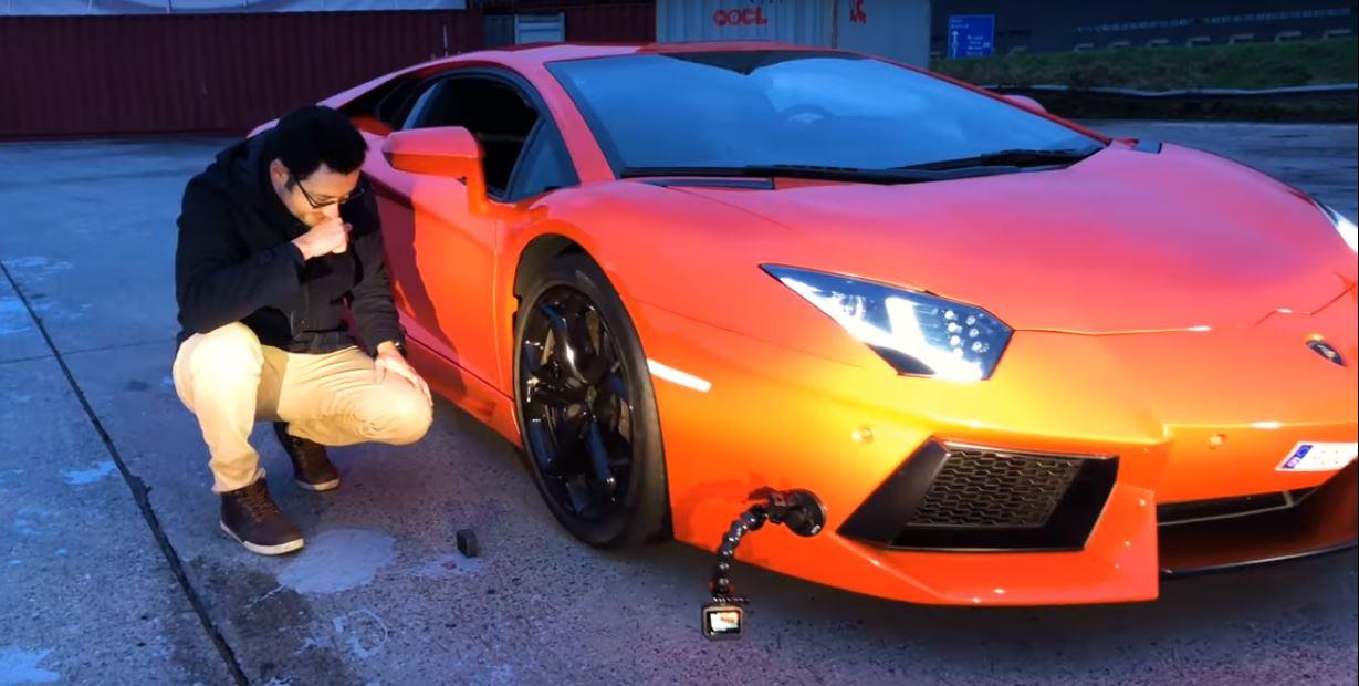iPhone X vs. Lamborghini Aventador Crush/Drop Test Has ...