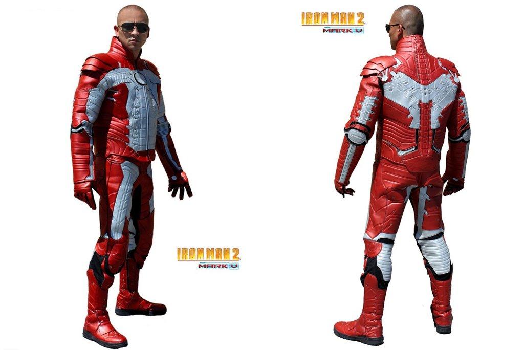 Iron Man Motorcycle Jacket Iron Man 2 Motorcycle Suit Now