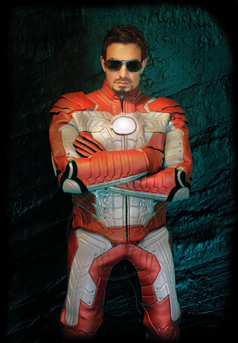 Iron Man 2 Motorcycle Suit Now Available Autoevolution