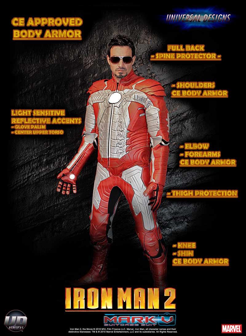 Iron Man Motorcycle Jacket Iron Man Motorcycle Jacket