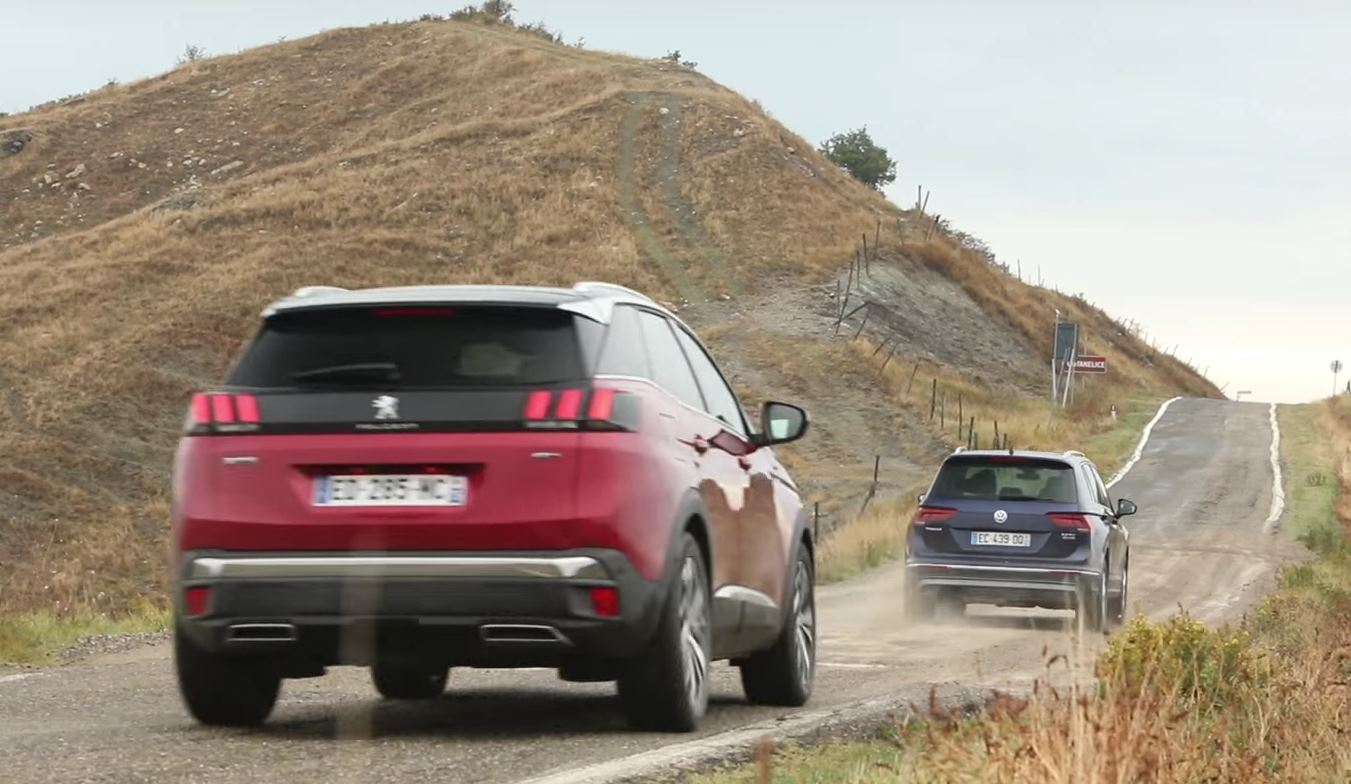 Is the 2017 peugeot 3008 better than the new volkswagen tiguan