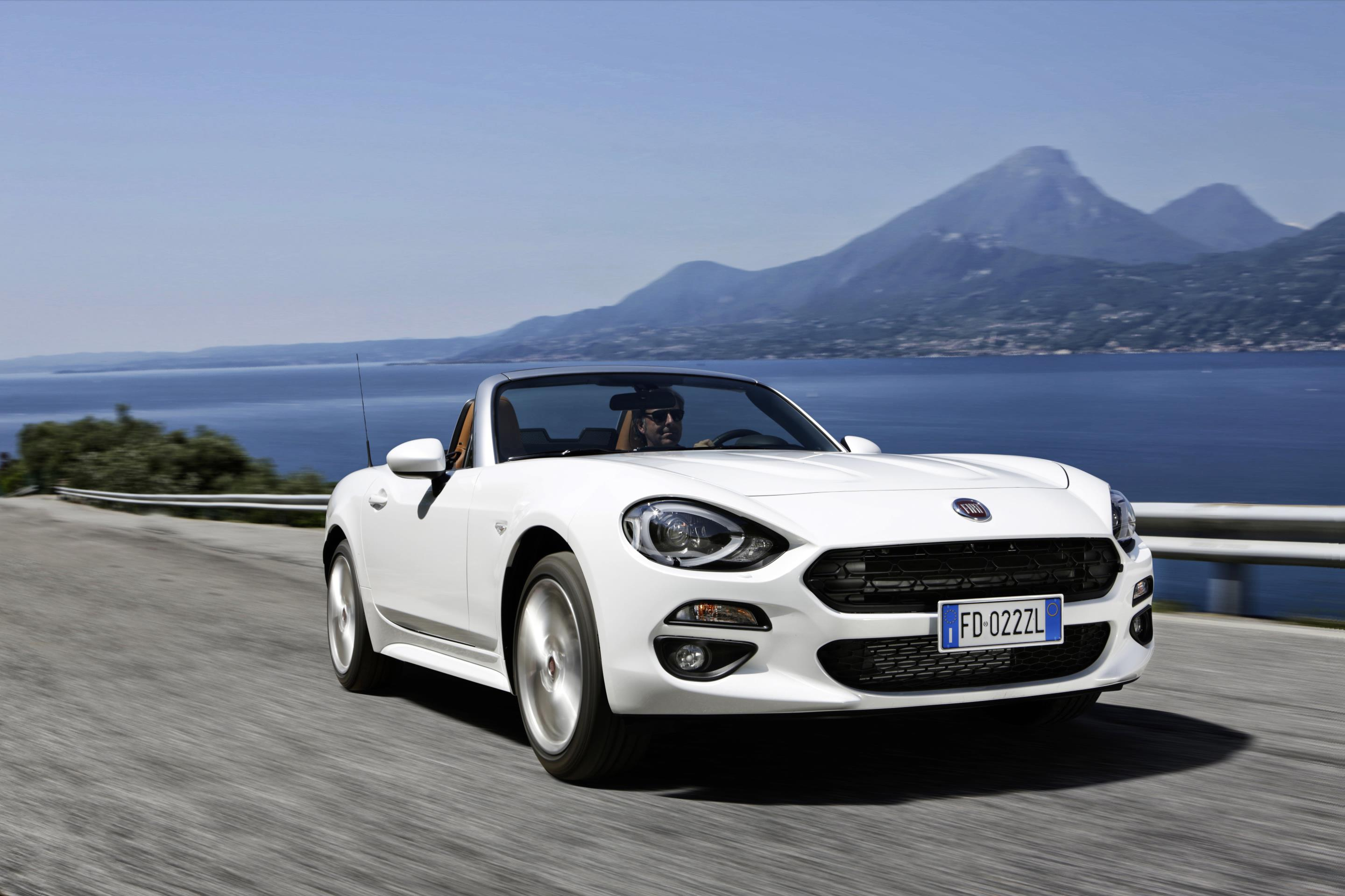 New Beetle Review >> Fiat 124 Spider Takes on Mazda MX-5, MINI Cooper and VW Beetle Convertible - autoevolution