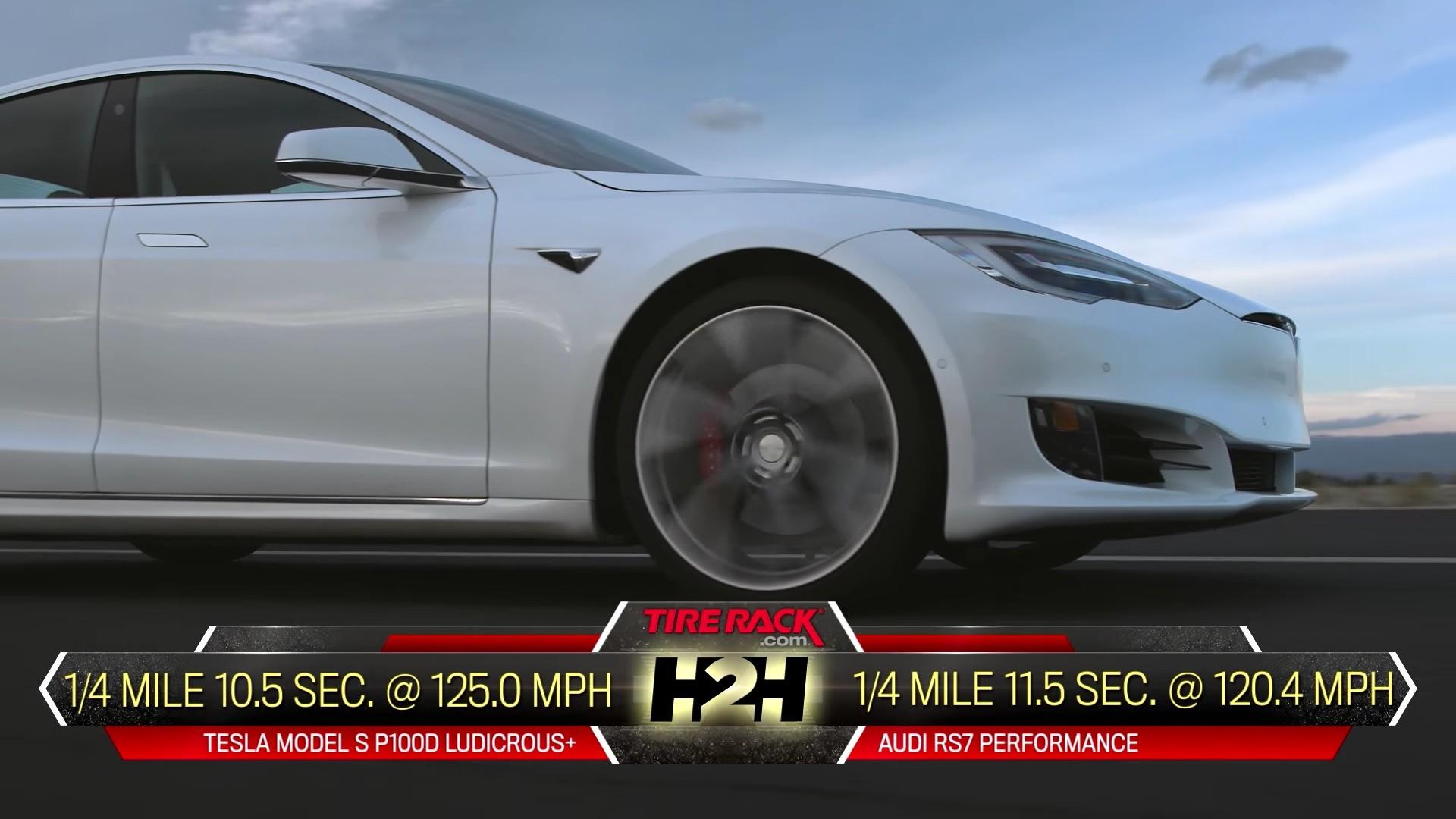 Audi Rs7 0 60 >> 2017 Tesla Model S P100d Vs 2017 Audi Rs7 Performance   Autos Post