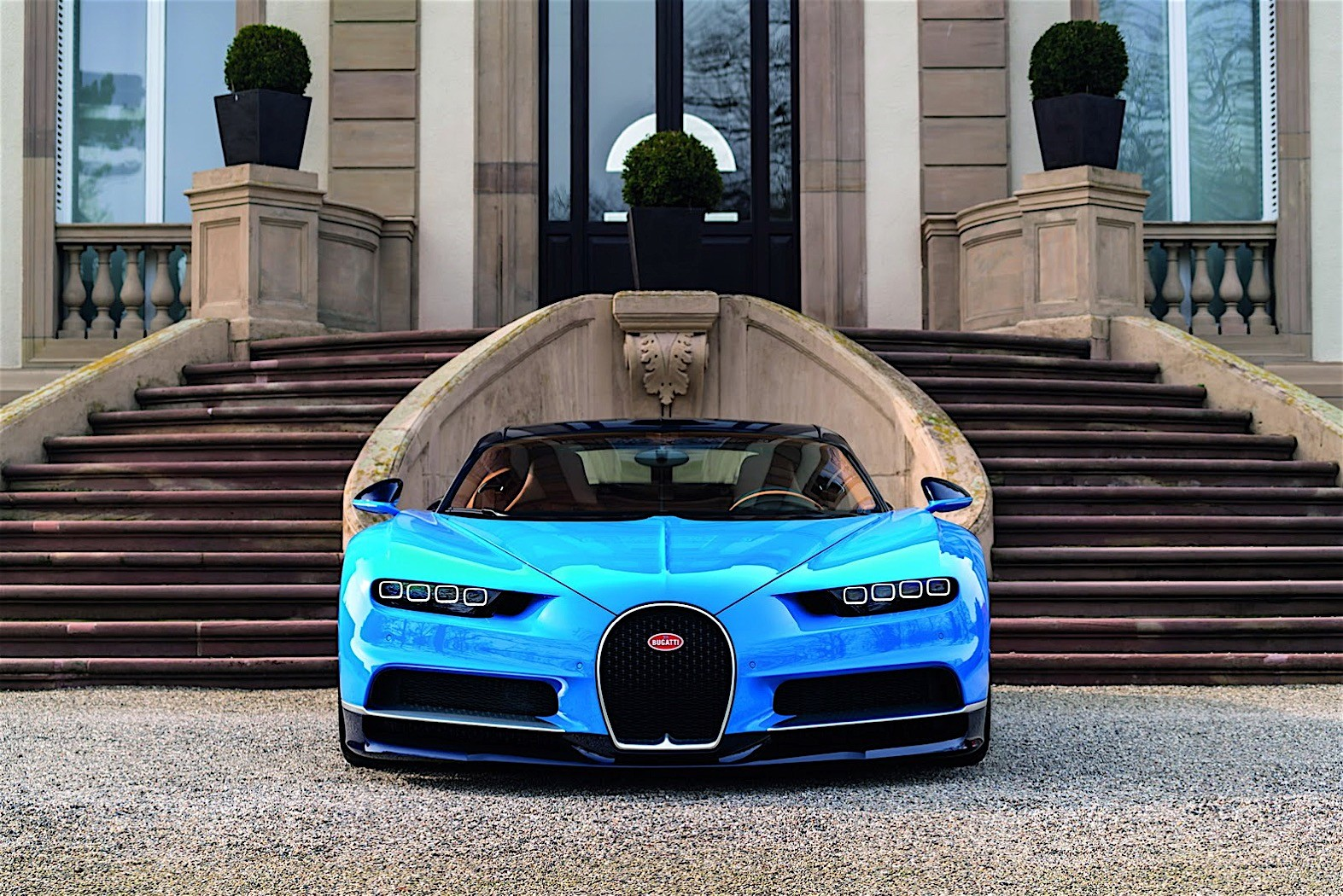 Is This Crashed Bugatti Chiron a Test Car? - autoevolution