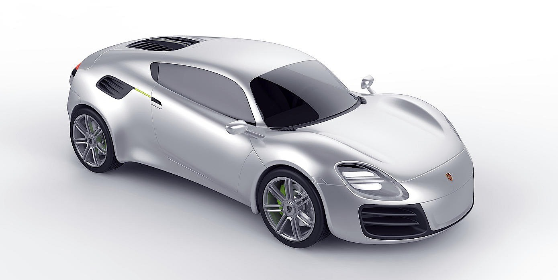 Is This Porsche 356 E Concept The All Electric Car Porsche
