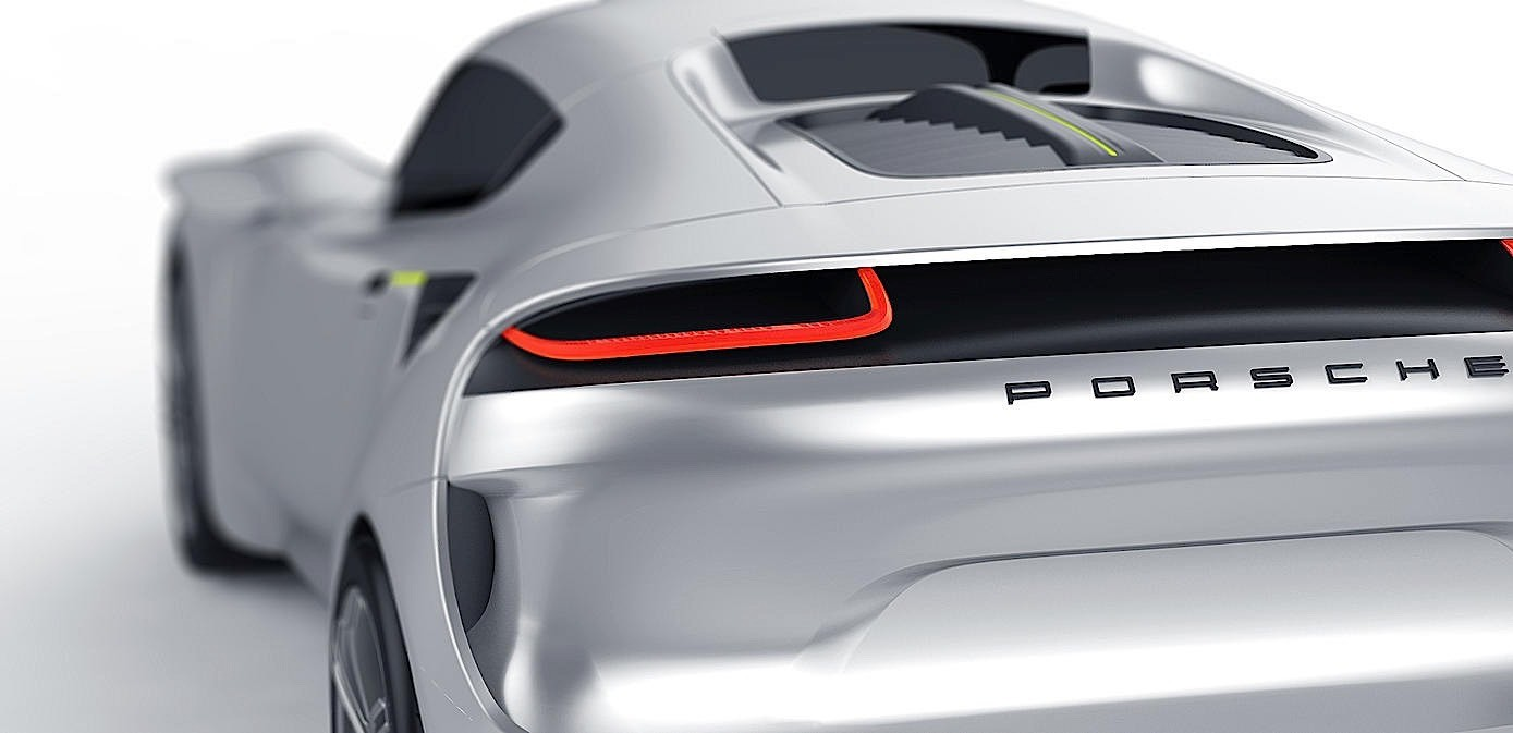 Is This Porsche E Concept The All Electric Car Porsche Needs