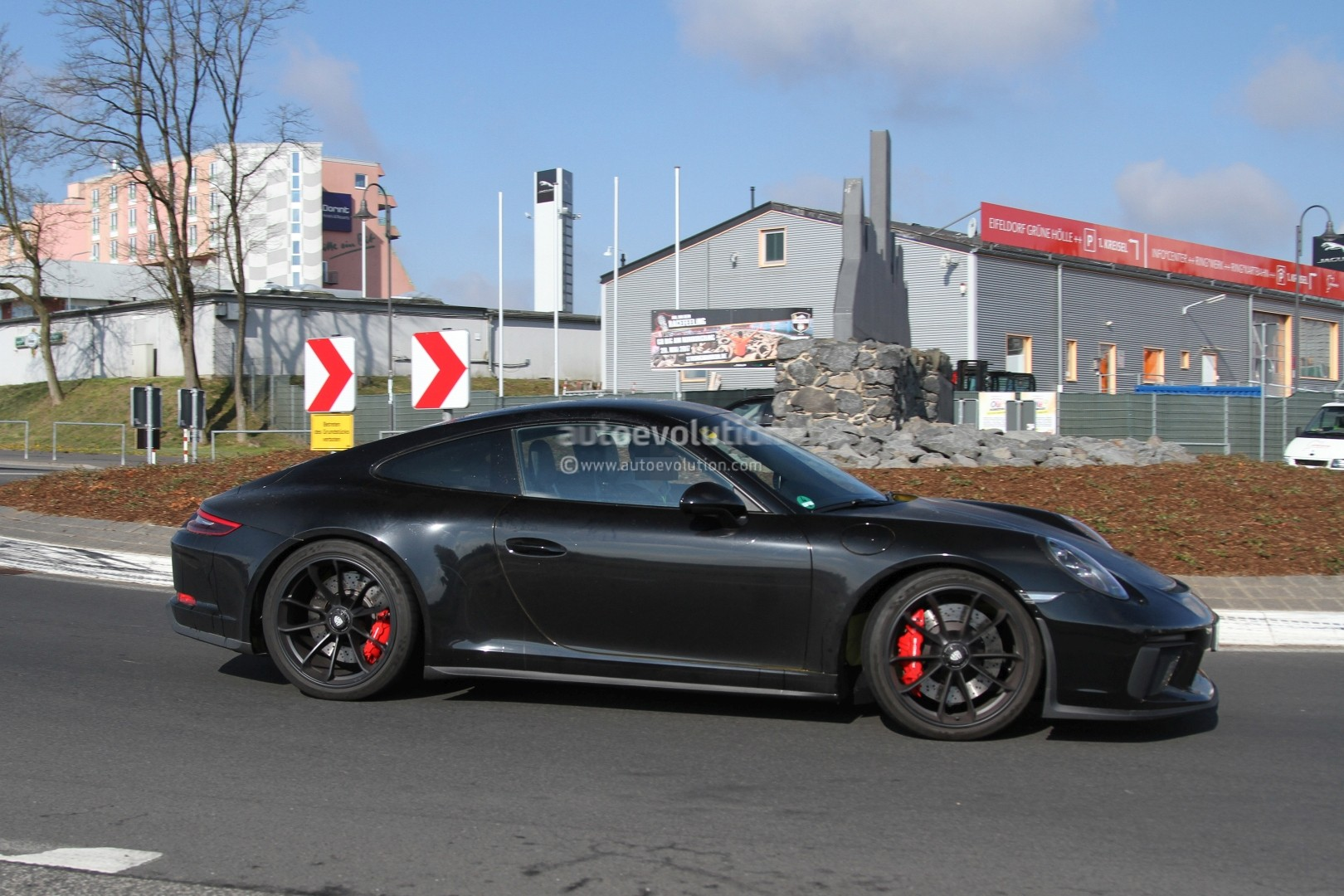 Is This The 2018 Porsche 911 GT3 Touring Package ...