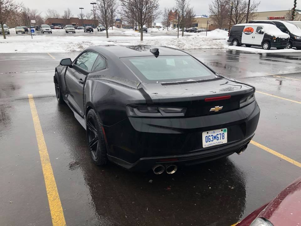 2017 Chevrolet Camaro Zl1 Widebody Rendering Is Not A Far