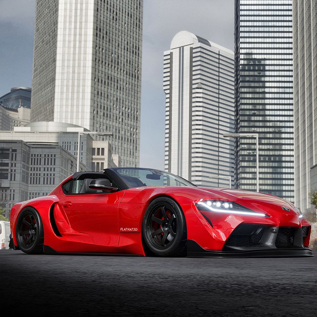 2020: Is This The 2020 Toyota Supra Targa Of Your Dreams