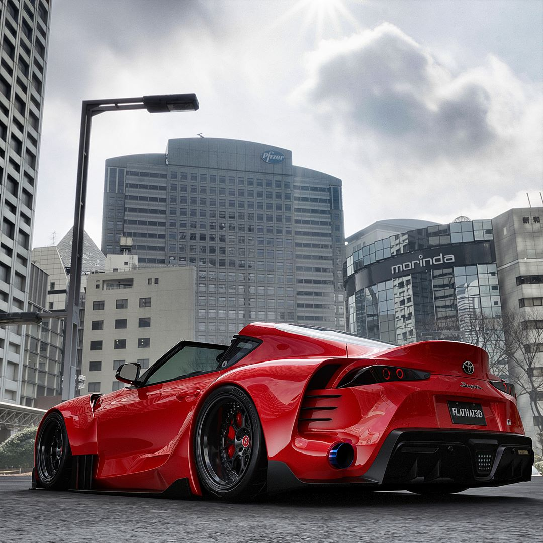 Is This The 2020 Toyota Supra Targa Of Your Dreams