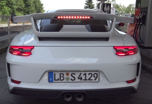 Is This the 991.2 Porsche 911 GT3 Touring Package? Prototype Has ...