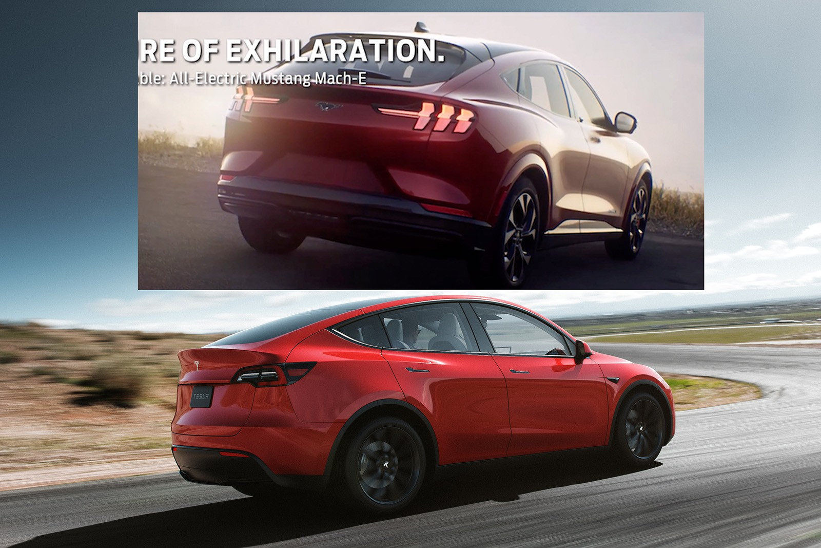 Is This the First Side-by-Side Shot of Tesla Model Y and ...