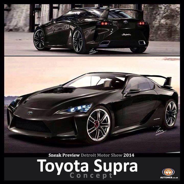 Is This The New Toyota Supra / Mirai Concept?