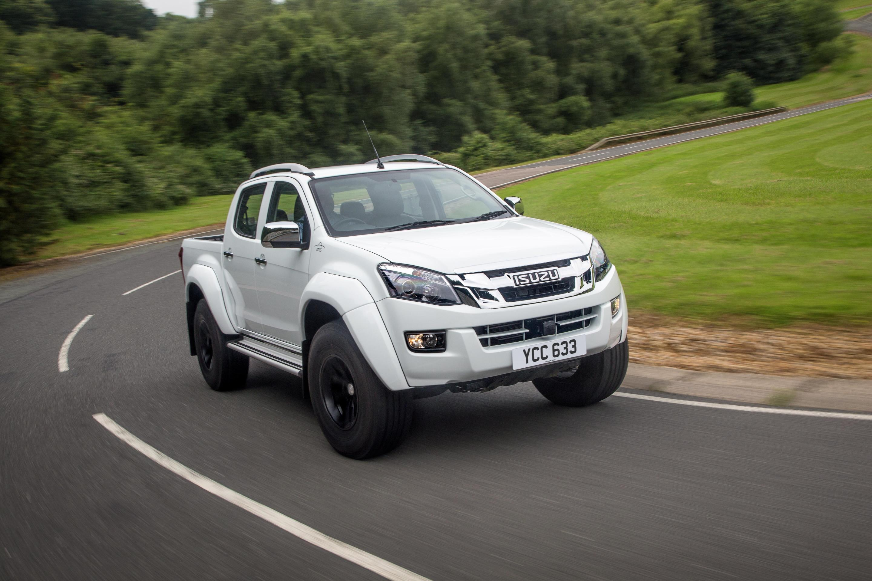 isuzu d max arctic trucks at35 price announced prepare 30 999 autoevolution. Black Bedroom Furniture Sets. Home Design Ideas