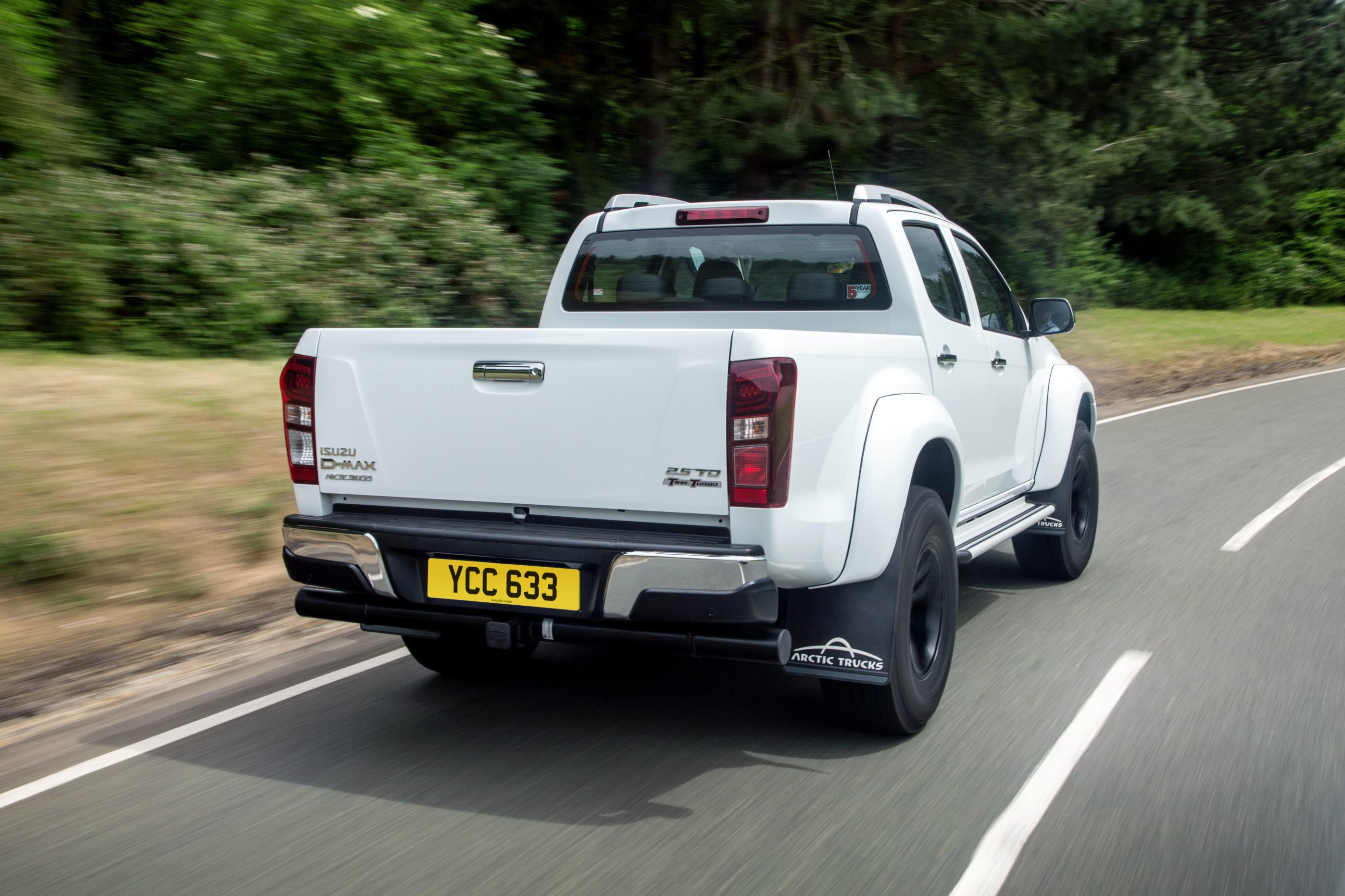 Isuzu D-Max Arctic Trucks AT35 Price Announced, Prepare £ ...