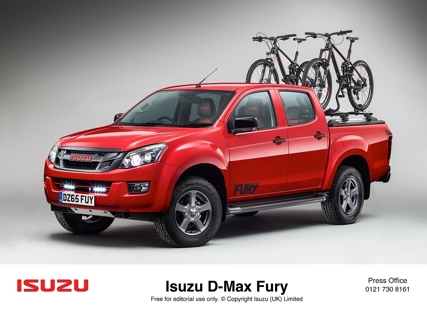 Isuzu D Max Range Adds Fury Variant Has Nothing To Do