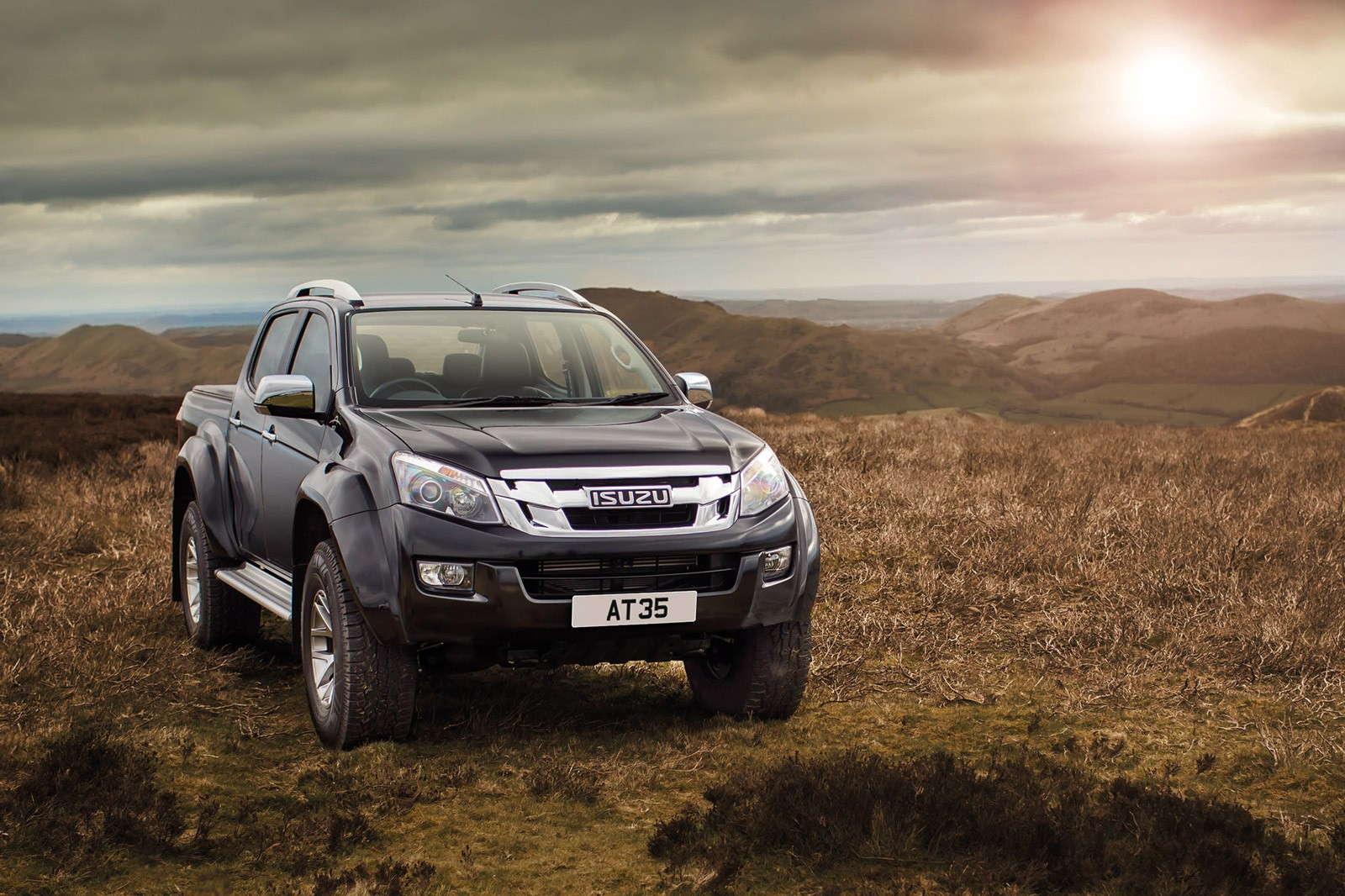 isuzu teams up with arctic trucks for ultimate d max. Black Bedroom Furniture Sets. Home Design Ideas