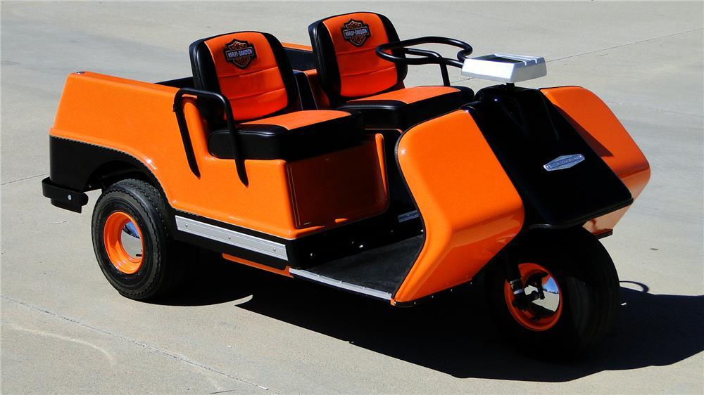 Harley Davidson  Wheel Golf Cart Parts